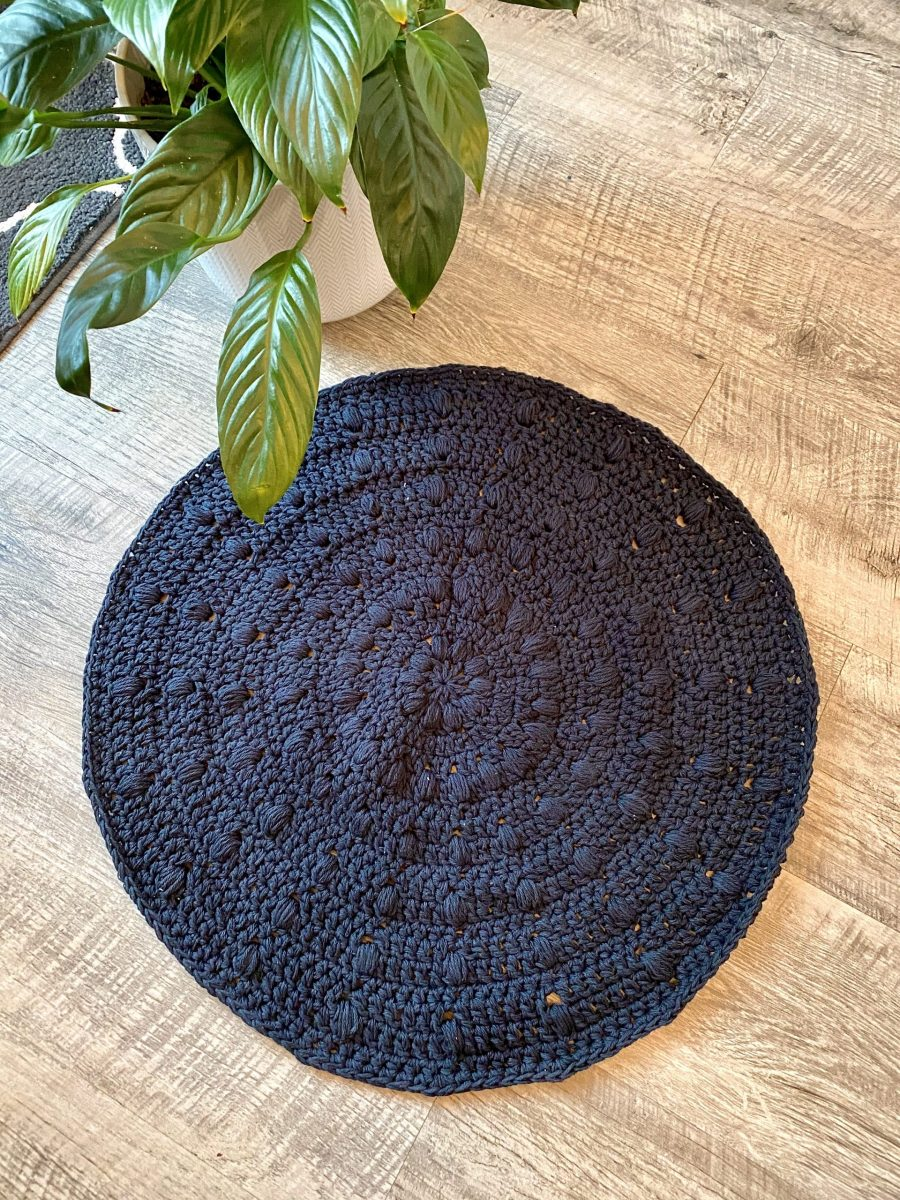Bubble Bath Mat crochet pattern by Little Monkeys Designs