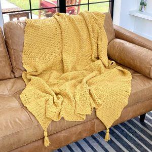 Pure Bliss Blanket crochet pattern